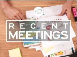 Recent Meetings